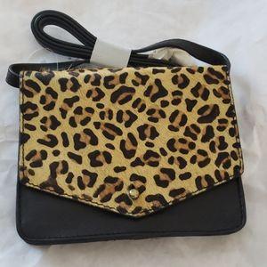 Lucky Brand Leopard Rela Crossbody Bag